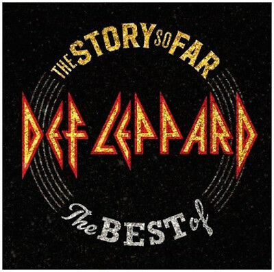 Def Leppard Cd - The Story So Far: Best Of (2018) - New Unopened - Rock