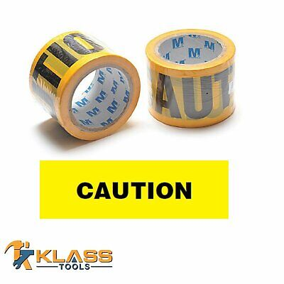 "Yellow Caution Tape 3"" x 300 FT (100 Yards)"