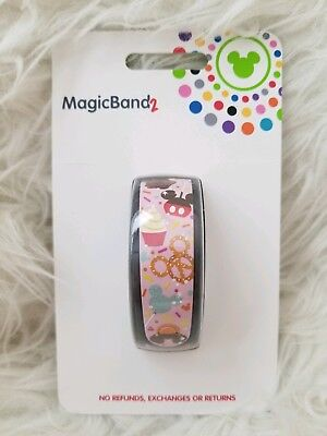 Disney Parks Food Magic Band 2 Pretzel Ice Cream Bar Mickey MagicBand 2 Snack