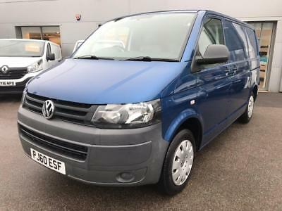2011 Volkswagen Transporter 2.0 TDI T28 Panel Van 4dr (SWB) Diesel blue Manual