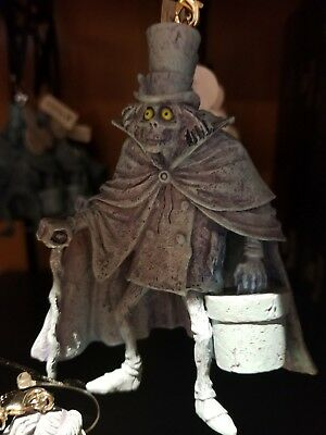 Disney Parks The Haunted Mansion Hatbox Ghost Figural Ornament New with Tags