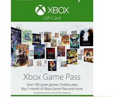 Xbox Game Pass 1 Month Subscription: £1 for 1 month. It's not a code