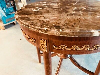 Circuler Table French style louis xv hand made in high quality, Brass