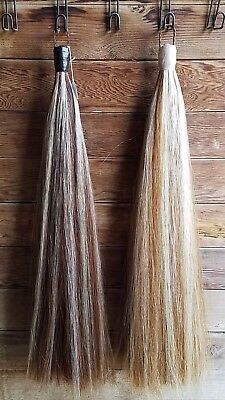 New 1.25lb Weighted Sorrel Tail Extensions w/ White Highlights KATHYS TAILS APHA
