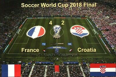 CROATIA NATIONAL FOOTBALL Team World Cup 2018 Final Soccer