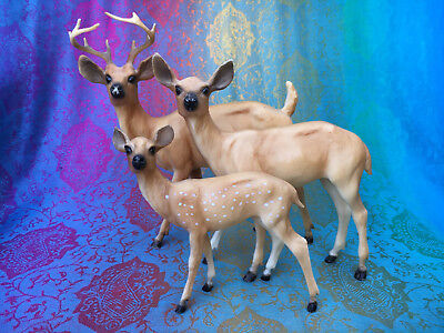 Breyer Deer Family - Traditional #3123 Chris Hess sculpt