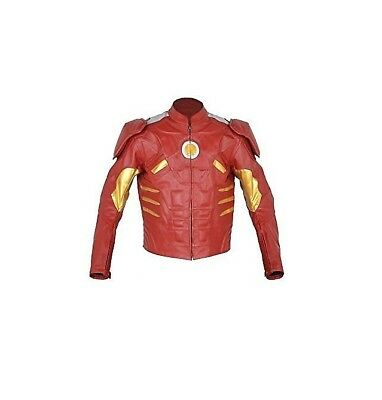 Ironman Motorcycle Leather Racing Jacket Full Body Protection Ce Approved