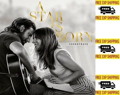 A Star is Born Soundtrack clean by Lady Gaga Audio CD Pop NEW FREE SHIPPING