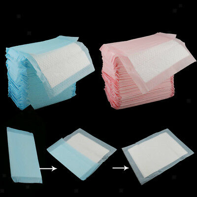 140x Adult Bed Pad Urinary Incontinence Disposable Bed pee Underpads 33x25cm