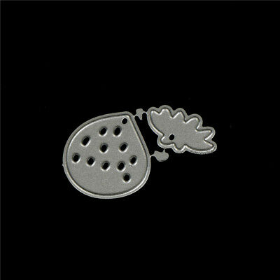 Strawberry Metal Cutting Dies Stencils for DIY Scrapbooking Album Cards Making;