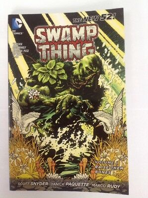 Swamp Thing: Raise Them Bones (Vol. 1) (Paperback, 2012) by Snyder & Paquette