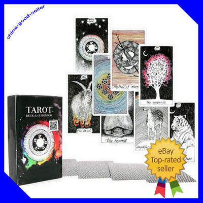 1 The Wild Unknown Tarot Deck Rider-Waite 78pcs Oracle Set Fortune Telling Cards