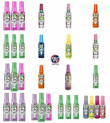 Air Wick VIPoo Pre Poo Toilet Spray Smell Fresh Fruity Lemon Lavender Rosy 55ml