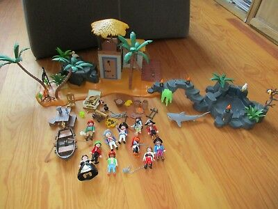 Playmobil Piraten Konvolut Piratenlagune