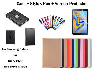 "360°Rotate PU Leather cover case for Samsung Galaxy Tab A 10.5"" T590/T595"