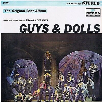 "12"" Lp - Frank Loesser's Guys & Dolls - Orig. Cast Album - Re - Us 197? 