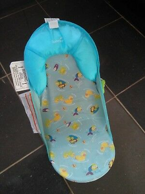 Summer Infant Baby Bath Support Seat Chair BLUE