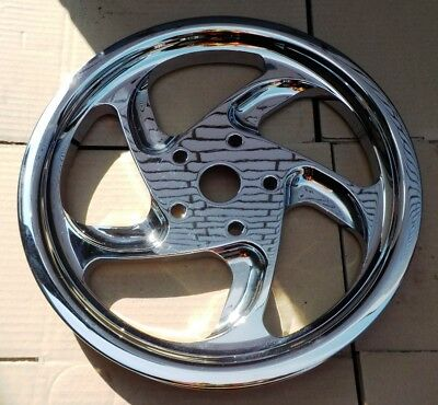 Performance Machine FX Softail Chrom Reaper Pulley/Zahnriemenscheibe - NEU!!!