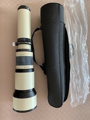 ROKINON 1300MM Long lens, excellent condition, almost unused