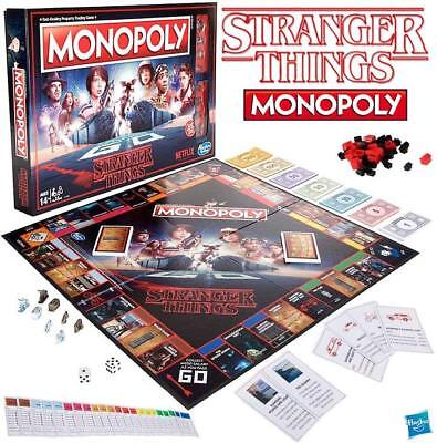 HASBRO Monopoly Stranger Things Board Game