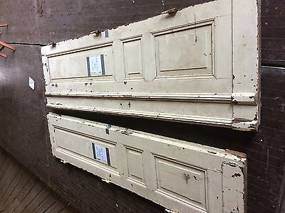 2 antique doors from Europe 106 30 1/2 106 x 24 total 106 x 54 1/2 French