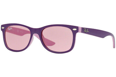 903c3183e2 Authentic RAY-BAN Junior Kid 9052S - 179 84 Sunglasses Violet Pink NEW 47mm