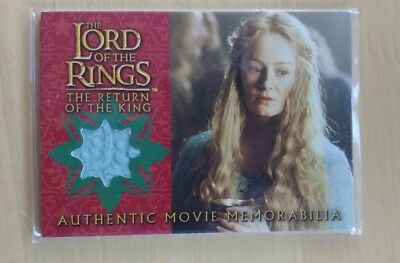 Topps Lord of the Rings Costume Card Eowyn Prop Stoff TOP