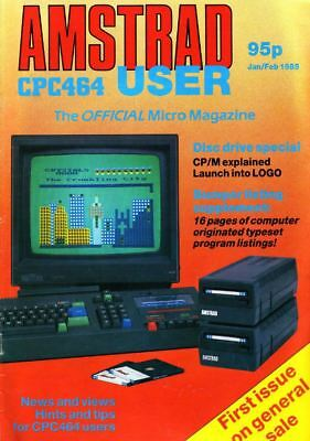 Amstrad Computer User & Amtix Magazines Complete Collections Pdf Dvd Set