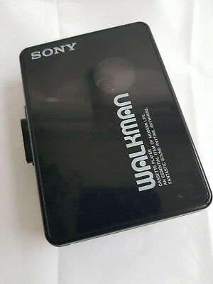 Vintage Eighties Nineties Black Sony Walkman WM-B10