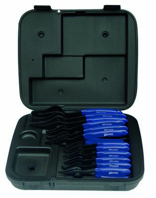Williams PL-1612 12-Piece Combination Internal and External Snap Ring Pliers Set