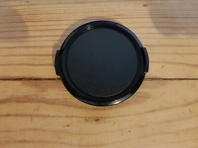 55mm Front Snap On Lens Cap Fits All 55mm Threaded Lenses.