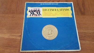 Los Cinco Latinos - Album De Oro - Lp - 3 Discos