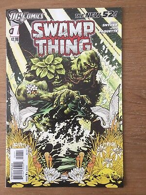 Swamp Thing #1 First Print New 52
