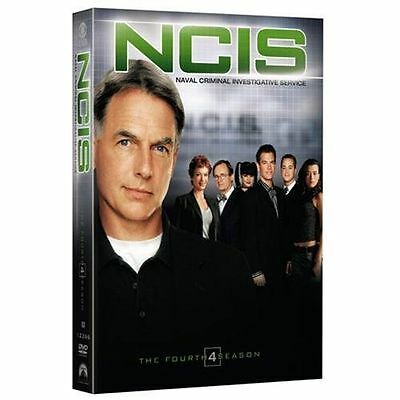 NCIS - The Complete Fourth Season (DVD, 2007, 6-Disc Set, Widescreen) NEW