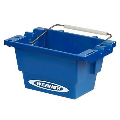 Werner Utility Bucket for Ladders Blue Storage Lock In Paint Buckets Attachment