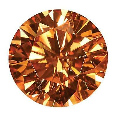1 Coupe Ronde Brillant Moissanite Chic Bourbon 7mm Diamètre 1.20 Carats