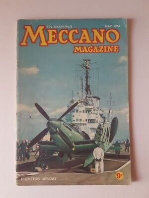 Meccano Magazine May 1951 Vintage Collectable