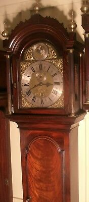 "Antique Mahogany ""  London ""  Automation  Dial Grandfather / Longcase Clock"