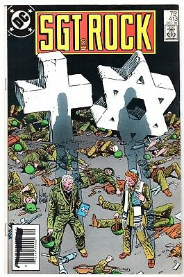 Sgt. Rock #413, Near Mint Minus Condition