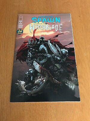 Medieval Spawn And Witchblade #2 Capullo Variant Image Comics