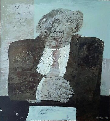 Original Oil On Board By Important Belgian Artist Rob Brouwers (1941-2016) (2)