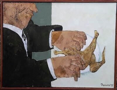 Original Oil On Canvas By Important Belgian Artist Rob Brouwers (1941-2016) (1)