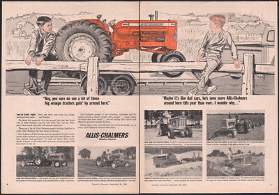 1963 Canadian Allis-Chalmers ad D19 Farm Tractor