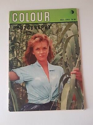 Colour Photography May 1963 Magazine Vintage
