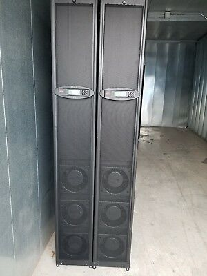 APC InRow SC, ACSC100  300mm, Air Cooled, Self-contained 200-240V 60Hz- Lot of 2