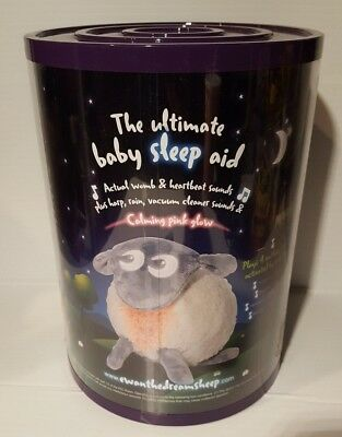 Ewan the Dream Sheep Gray Sound Machine and Baby Sleep Soother