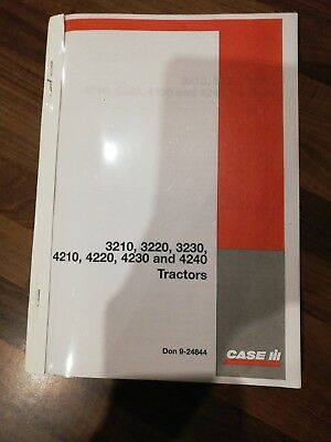 Case Ih Tractor 3220 3230 4210 4220 4230 4240 Operators Manual