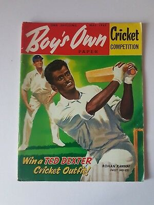 Boy's Own Paper May 1963, Vintage Magazine, Collectable, Gift for Dad, Grandad