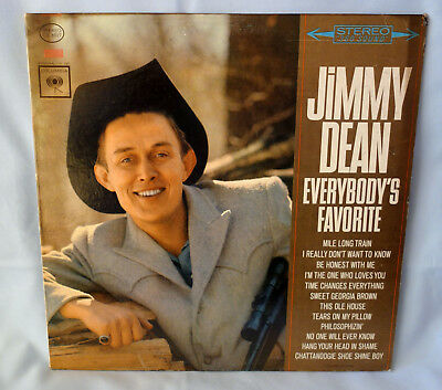 LP Jimmy Dean > Everybody's Favorite < Columbia CS 8827 / USA-1963