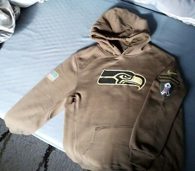 NFL Seattle Seahawks Hoodie Gr. S Salute to Service
